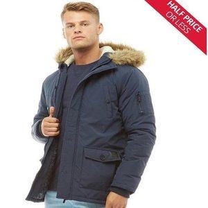 Fluid Mens Parka Jacket £26.99 / Bellfield Mens Nimrod Fur Lined Parka £39.99 @ MandM Direct (p&p £4.99 or Free with Premier)