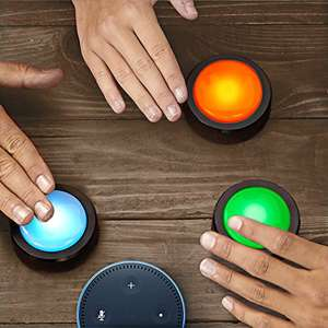 Echo Buttons, an Alexa Gadget [2 pack] at Amazon for £14.99 Prime (£18.98 non Prime)