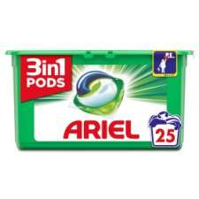 Ariel 3In 1 Pods Washing Capsules 25 Wash for £3.00 @ Tesco via Supersavvyme.