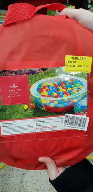 Ball pit - 75p instore @ Morrisons (Knottingley)