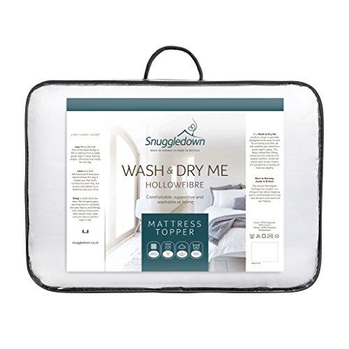 Snuggledown Wash and Dry Me Mattress Topper, Single@amazon prime.£12.07 prime,£16.56 non prime.