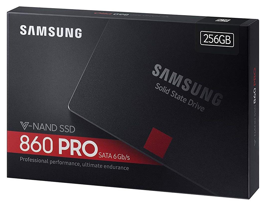 "Samsung Evo 860 Pro 2.5"" SSD 256GB £89 || 1TB £284.28 @ Amazon"