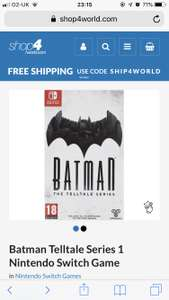 Batman Telltale Series £20.99 @ Shop 4 World