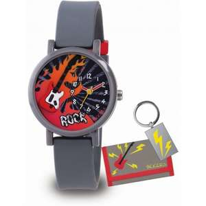 Kids Tikkers Rock Guitar Watch Set now £7.00 delivered @ The Watch Hut.
