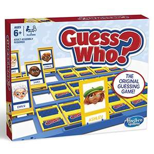 Hasbro Gaming Guess Who? Classic Game £10.99 Prime (£4.49 delivery) @ Amazon