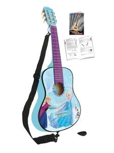 Lexibook 31 inch Classical Acoustic Guitar In Frozen Theme W/ 6 Nylon Strings, Strap, Pick & Learn To Play Guide £24.99 @ Very (Free C&C)