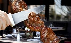 Bem Brasil AYCE Lunch with cocktail for 1 £13 for 2 £25 @ Groupon