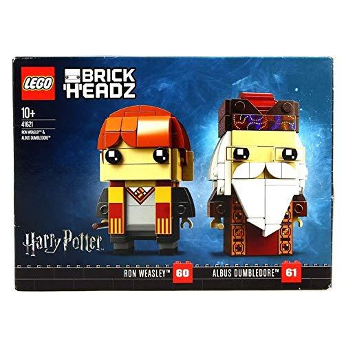 Lego Harry Potter 41621 BrickHeadz Ron Weasley and Albus Dumbledore Building Set was £17.99 now £14.39 Prime / £18.88 non prime  @ Amazon