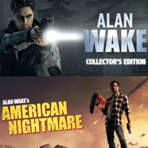 Alan Wake: Collector's Edition £2.64 / American Nightmare £1.05 / Standard £1.94 w/code (Both £3.69) @ Green Man Gaming (Steam keys)