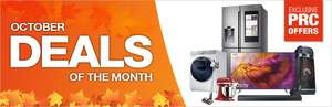 October Deals of the Month - PRC Direct OCT10 for £10 OCT50 for £50, OCT100 for £100