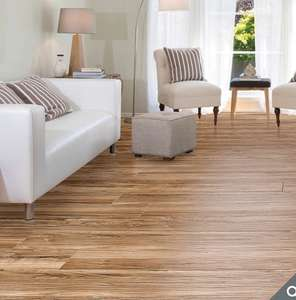Golden Select 14mm Laminate Flooring AC4 rated ( including underlay ) £15.58 per pack @ Costco in-store