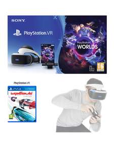 PlayStation VR Starter Pack with Wipeout Omega Collection - Very.co.uk £199.99