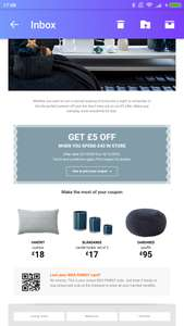 £5 off £40 spend @ Ikea (Check Emails)