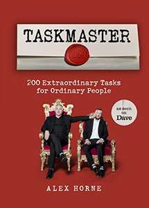 Taskmaster: 200 Extraordinary Tasks for Ordinary People £7 Prime (£2.99 delivery) @ Amazon