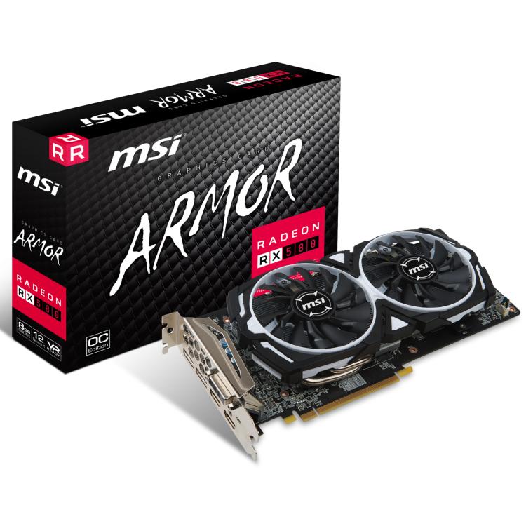 Radeon RX 580 ARMOR OC 8GB - £199.99 @ Overclockers