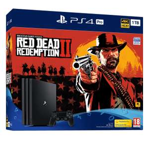 PS4 Pro + Red Dead Redemption + Assassins Creed Odyssey + Doom + Now TV 3 Months - £379.99 @ GAME