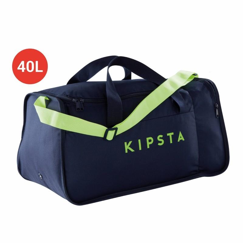 KIPSTA KIPOCKET TEAM SPORTS BAG 40 LITRES - BLUE/YELLOW for £3.99 Free C&C @ Decathlon
