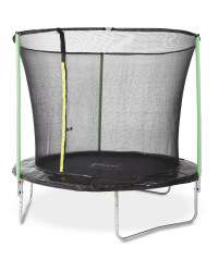 Plum 8ft trampoline with enclosure - £67.99 + £3.95 Delivery Aldi online