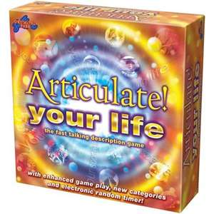 Articulate Your Life Game £5 each or 3 for £10 + Free C+C w/code @ Debenhams