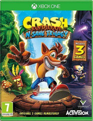 Crash Bandicoot N-Sane Trilogy Xbox One & PS4 £22.99 @ Tesco in store at Shrewsbury