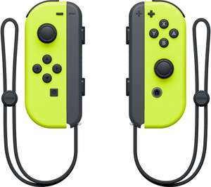 Nintendo Switch Neon Joycon Controllers at Currys for £54.99