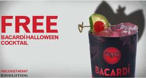 Free BACARDI Halloween cocktail​ @ Revolution bars