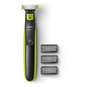 Phillips one blade with 3 combs at Superdrug for £26.66