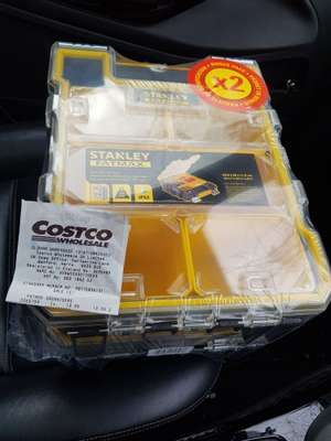 Stanley FATMAX Organiser x 2 instore at Costco for £16.78