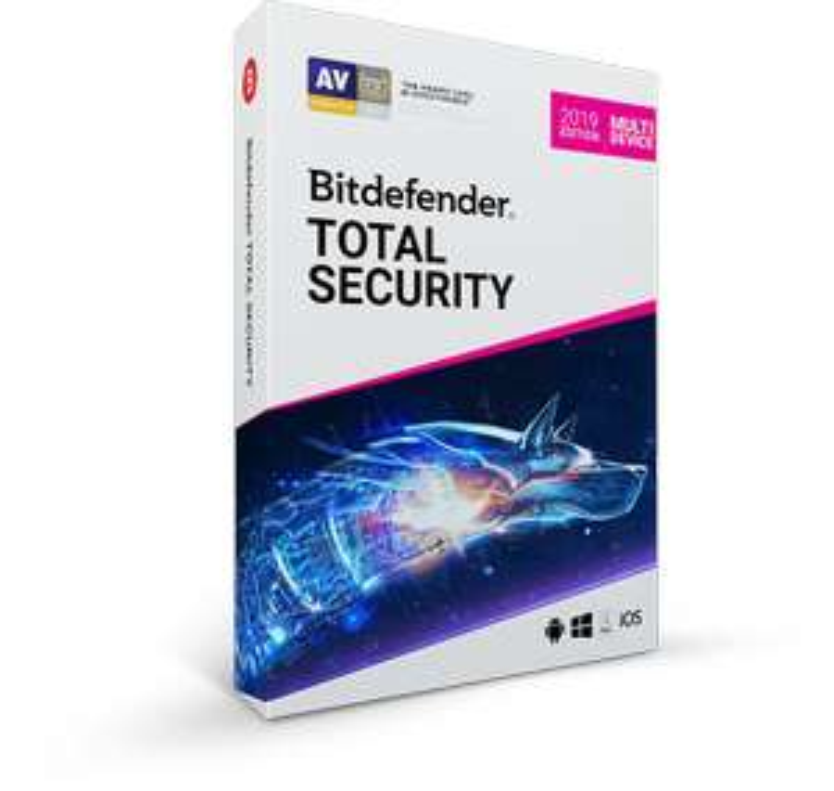 Bitdefender Total Security 2019 for £29.99 at Bitdefender