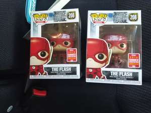 Funko SDCC (summer convention) The Flash 208 £6.75 reduced to clear at tescos