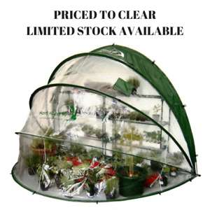 Horti Hood 90 Degree Outdoor Growing Dome Greenhouse- FREE DELIVERY at ebay/thevoyagebird for £29.99