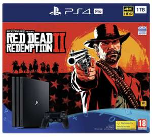 Playstation Pro 1TB with Red Dead Redemption 2 + Call of Duty Black Ops 4 (plus £10 Argos Voucher) - £379.99 @ Argos