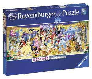 Ravensburger Disney Panoramic 1000pc Jigsaw Puzzle @ Amazon - £9.80 Prime / £14.29 non-Prime