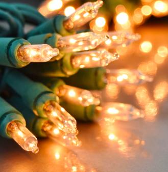 Traditional Fairy Lights - Warm White @TheRange - £5.99 (£2 C&C)
