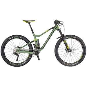 ScottGenius 710 Full Suspension Mountain Bike (2018)RRP £4599, now £2999 @ Westbrook Cycles extra 11% off with code