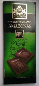J.D. Gross Dark Chocolate instore at Lidl for 64p