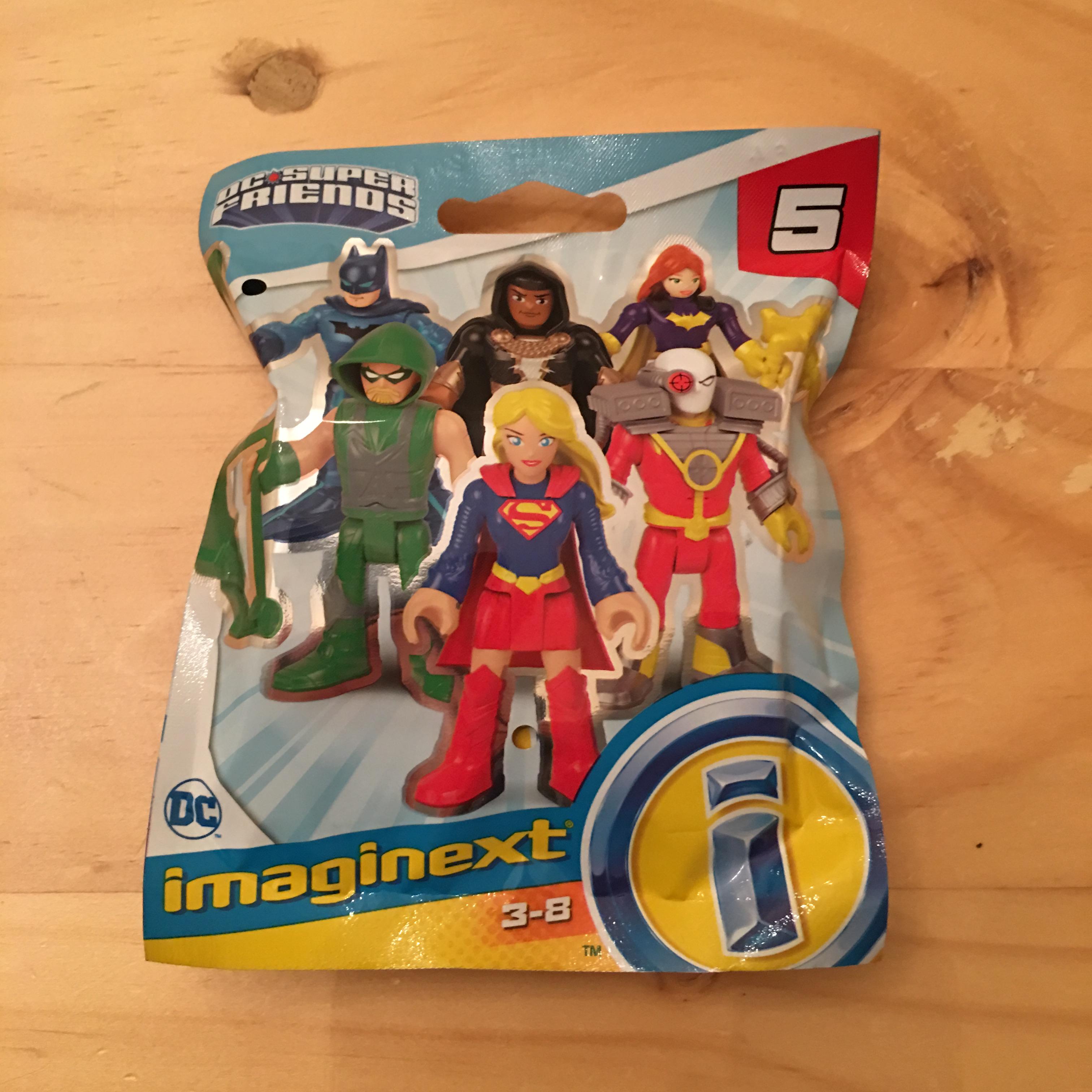 Imaginext DC Super Friends Series 5 Blindbags instore at Tesco for £2.25