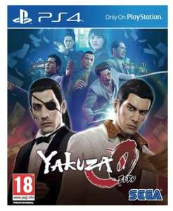 Yakuza 0 for PS4 £12.95 @ The game collection