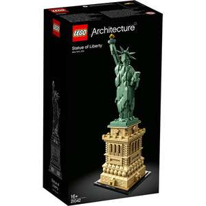 LEGO 21042 Architecture Statue of Liberty Building Set was £89.99 now £74.95 Free P+P @ Jadlam Toys and Models.