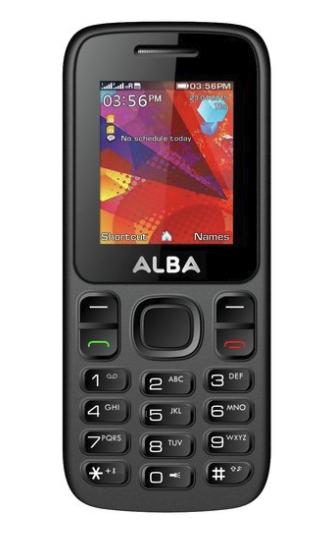 Cheap Dual Sim Phone - SIM Free Alba Mobile Phone - Black £12.95 @ Argos