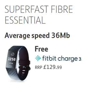 Get a Fitbit Charge 3 when you sign up for 18 months of BT Broadband - £29.99 p/m and £29.99 upfront - £569.81 @ BT