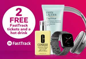 Free 2 FastTrack tickets and hot drink when you spend £20 @ Stansted Airport