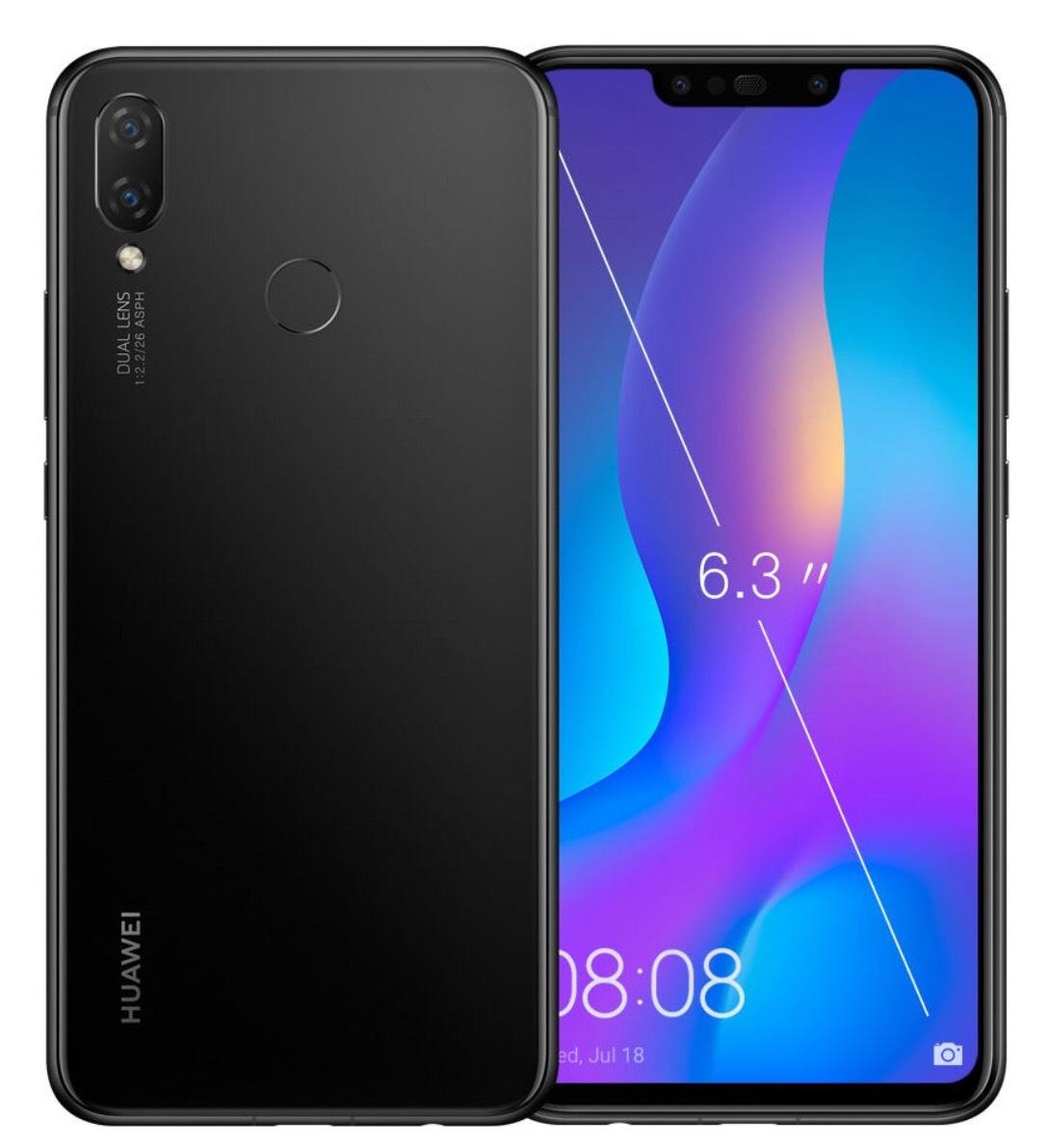 Huawei Nova 3i-Black £206.99 @ Toby Deals