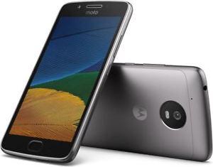 Free Sandisk 64gb Memory Card - Motorola Moto G5 16GB with 3 GB RAM (Dual Sim) UK SIM-Free - Lunar Grey - £127.98 @ Amazon