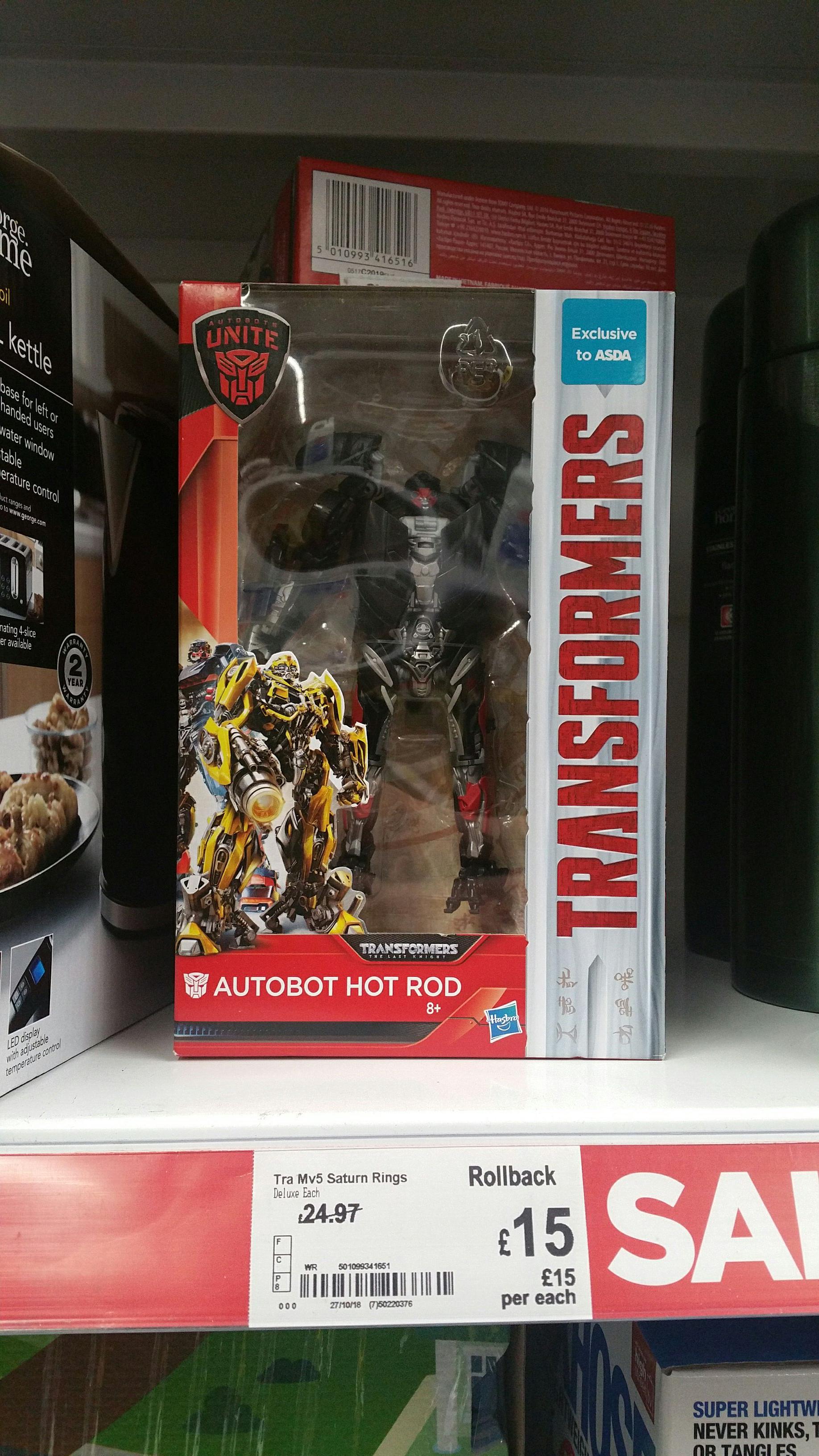 Transformers autobot hot rod instore at Asda (Irvine) for £15