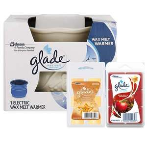 Glade Electric Wax Melt Warmer And Wax Melts Bundle at Poundshop for £5 was £19.50 (+ £4.95 delivery)