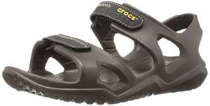 Crocs Men Swiftwater River Fisherman Sandal Brown with voucher, Free Delivery @ Amazon Prime £14.69 (apply voucher)