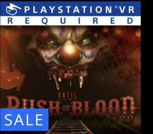 Until Dawn Rush of Blood PSVR for £7.99