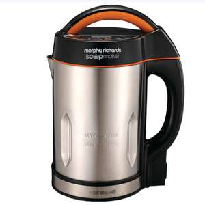 Morphy Richards Soup and Smoothie Maker 501016 Silver/Black Soupmaker and Smoothie Maker - B&M instore £39.99
