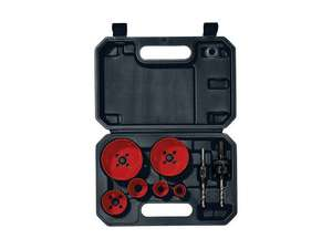 Parkside Carbide or Bi-Metal Key HoleSaw Set £9.99 @ Lidl